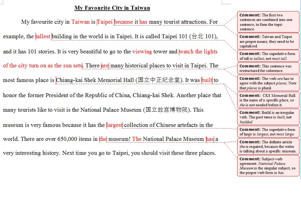 taiwanese high school essay after edit high school essay  after edit