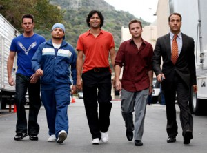 The cast of Entourage.